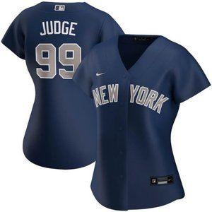 Women's New York Yankees Aaron Judge Navy Jersey